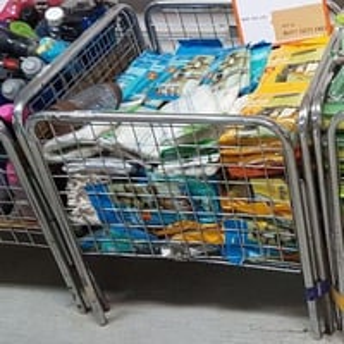 Supermarket Dump Bin