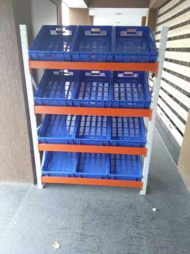 Supermarket Vegetable Display Rack