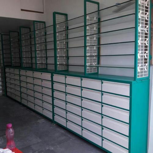 Mild Steel Medical store Rack