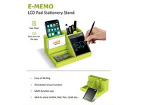 E-Memo LCD pad Stationery stand