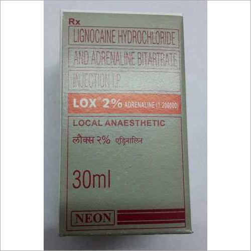 Lignocane hydroclorideadrenalinebitartrateinjectionL