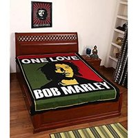 One Love Bob Marley Indian Cotton Fabric Bohemian Wall Tapestry