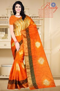 Traditional Tussar Silk Saree