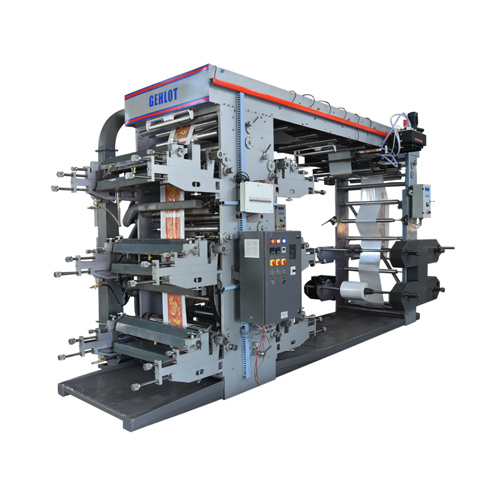 6 Colour Eco Flexo Printing Machine