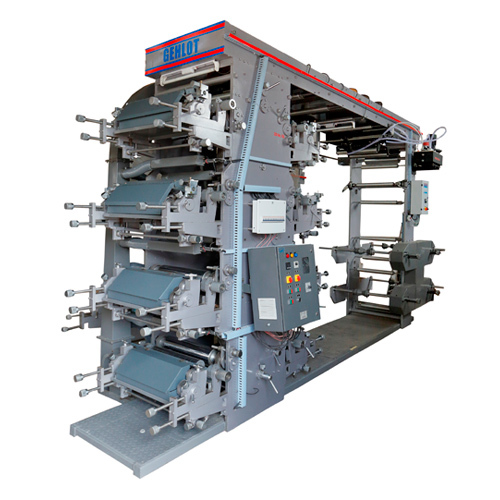 8 Colour Teco Flexographic Printing Machine