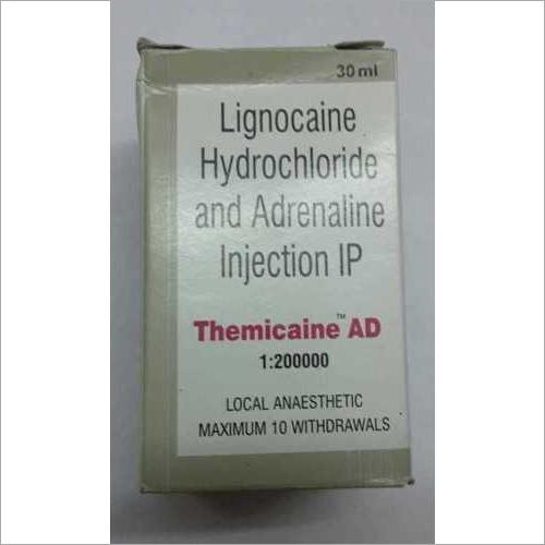 Lignocaine hydrochlorideadrenaline Injection