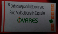 Dehydroepiandrosterone with Folic Acid Capsules