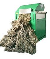 VG Carton box recycling machine