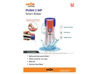 Push 2 Sip Smart Shaker Sipper