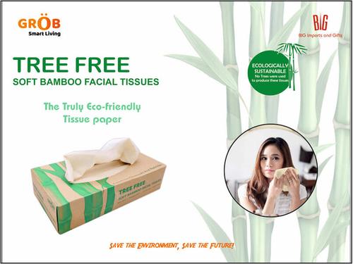 Tree Free Soft Bamboo Tissue