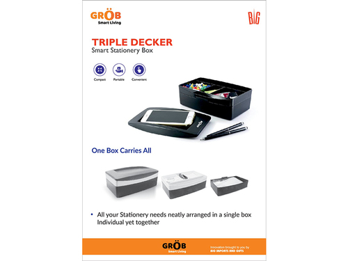 Triple Decker Smart Box