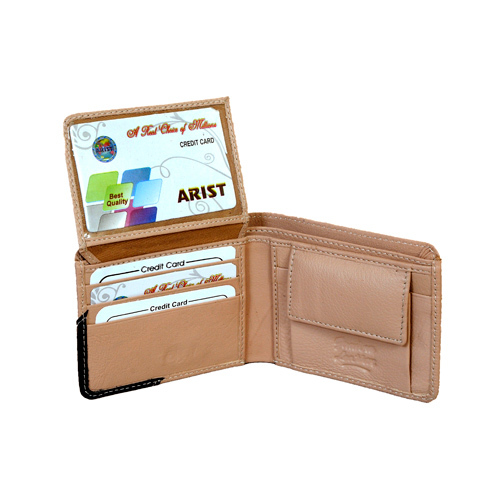 Casual Design Leather Wallet