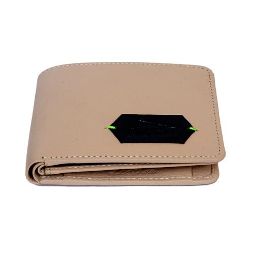 Mens Slim Bi Fold Leather Wallet