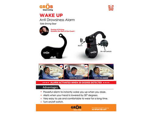 Wake Up Anti Drowsy Alarm