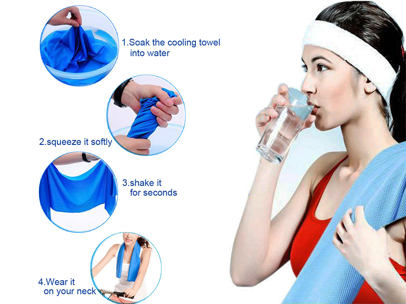 Hydracool Instant Cool Towel