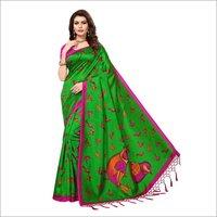 Dersigner Mysore Silk Jhalar Saree
