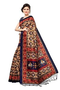 Mysore Silk Fancy Jhalar Saree