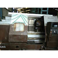 CNC Chucker Lathe Machine