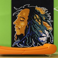 Boho Screen Cotton Bohemian Bob Marley Printed Wall Decor Tapestry