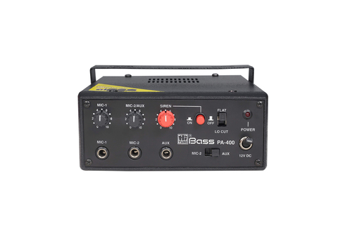 PA-400 PA Mobile Amplifier Two Tone Siren