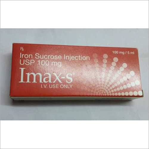 Iron Sucrose Injection 100 Mg
