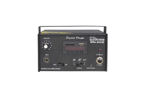 Mobile PA Amplifier MPA-50U (Blue tooth)