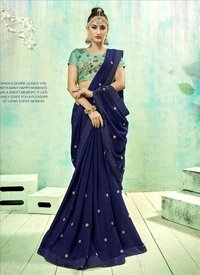 Latest Collection Georgette Saree