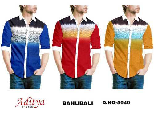 BAHUBALI 40X40 COTTON PRINTED CHECKS