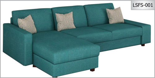 L Shape Febric Sofa