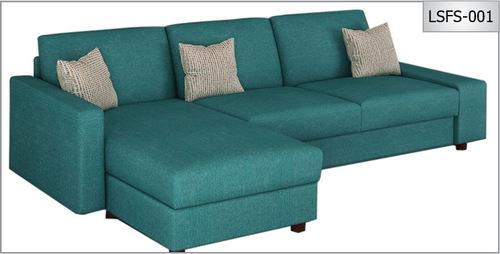 L Shape Febric Sofa