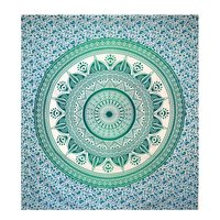 Indian Mandala Cotton Hand Printed Wall Hangings Tapestry