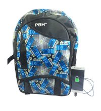 USB Port Rain Cover Backpacks