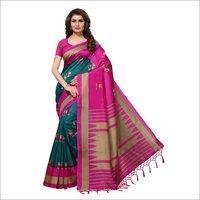 Mysore Silk Jhalar Saree