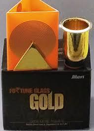 Fortune Glass - Gold