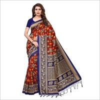 Modern Mysore Silk Jhalar Saree