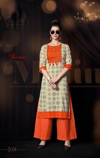 Latest Collection Kurta Palazo set