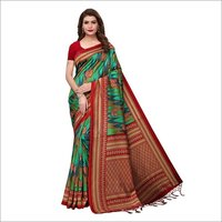 Mysore Silk Saree With Jhalar