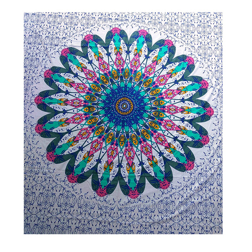 Wall hanging Indian 100% Cotton Multi Color Floral Hippie Tapestry