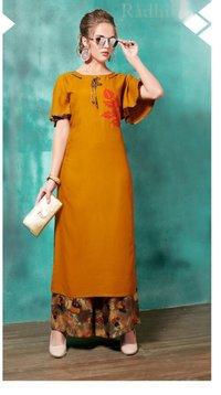 Designer Kurta Palazao Outfit