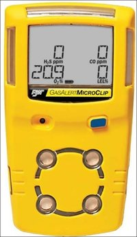 Gasalert Microclip X3 multigas detector