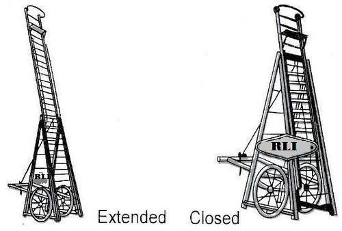 Aluminium Roadster Tower Ladder
