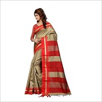 Poly Cotton Silk Saree