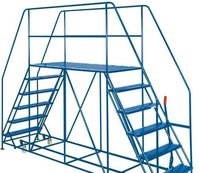 Double Entery Platform Ladder