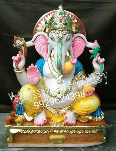 Lord Ganesha Marble Idols