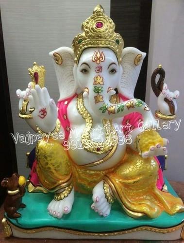 Buy Onilne Makrana Marble Ganesh Statue
