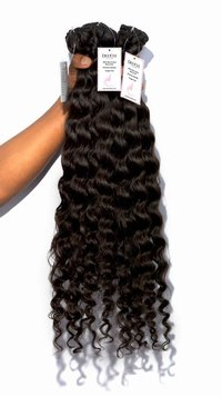 Single Drawn Remy Human Indian Hair