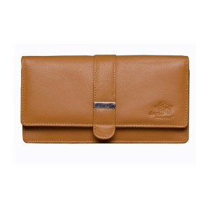 Ladies Trifold Leather Wallet