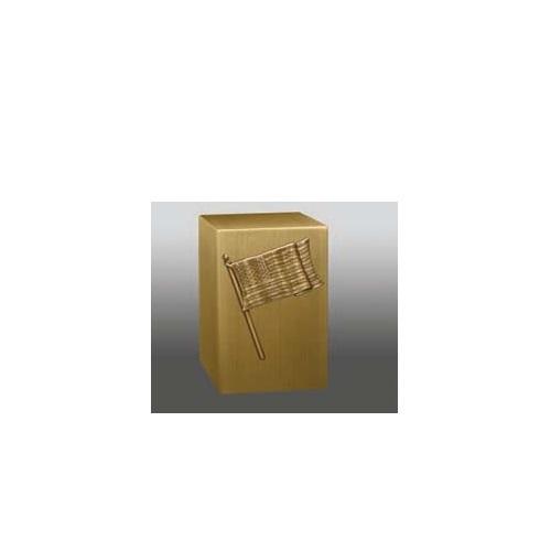 Old Glory Cube Urn