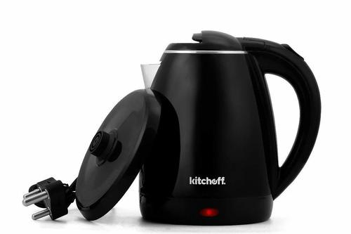 Kitchoff 1.7- litre Double Body Automatic Electric Kettle (Black)