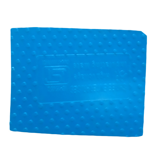 Blue Electrical Rubber Mat
